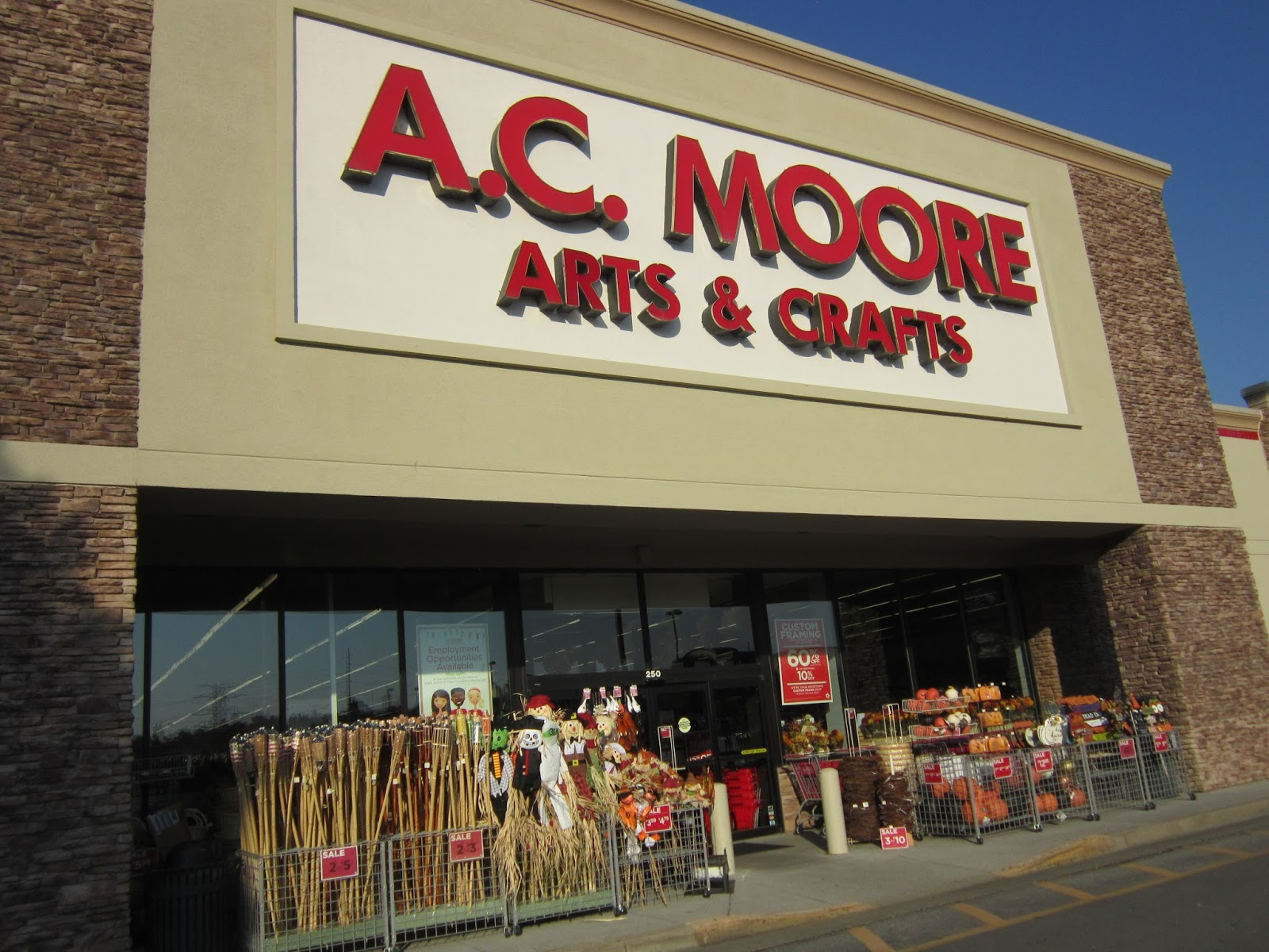 A c moore crafts a perfect partnership retail leader for Ac moore and crafts