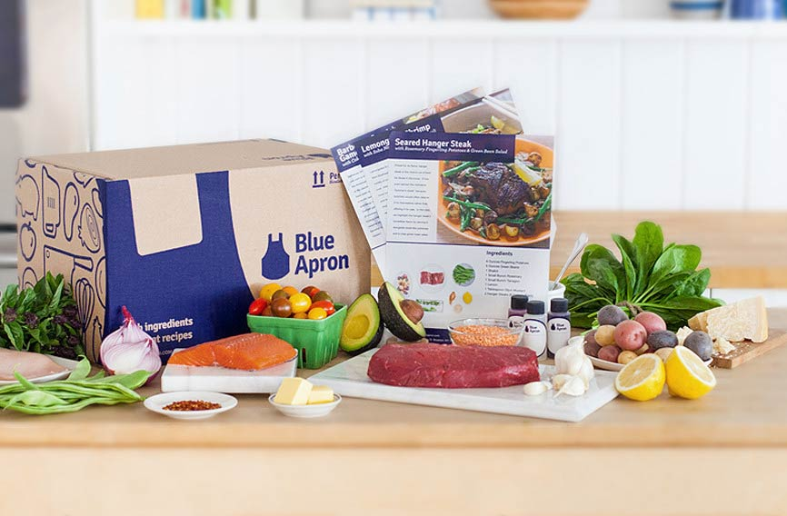 Blue Apron Revenue, Customers Fall Sharply, But Loss Less Than Expected