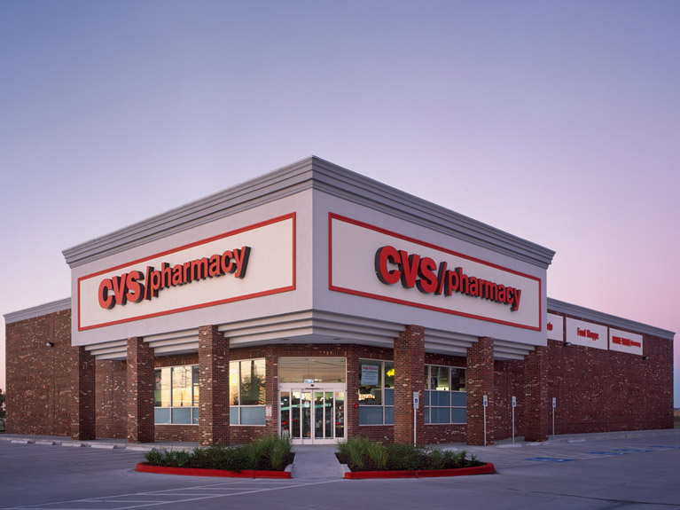 CVS operates more than 9,800 retail locations
