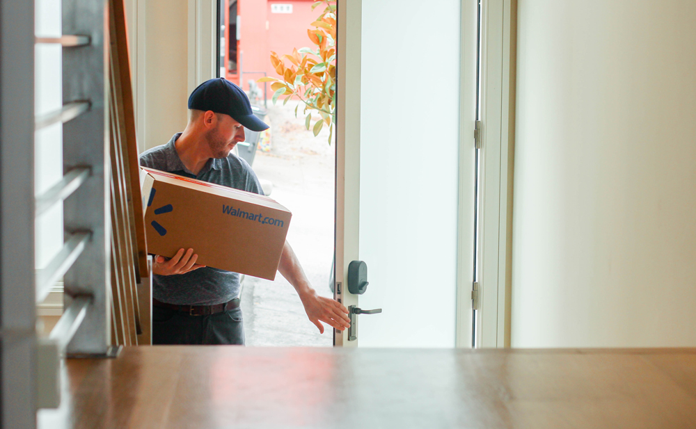 Walmart, Amazon Continue Grocery Delivery Expansion East, West