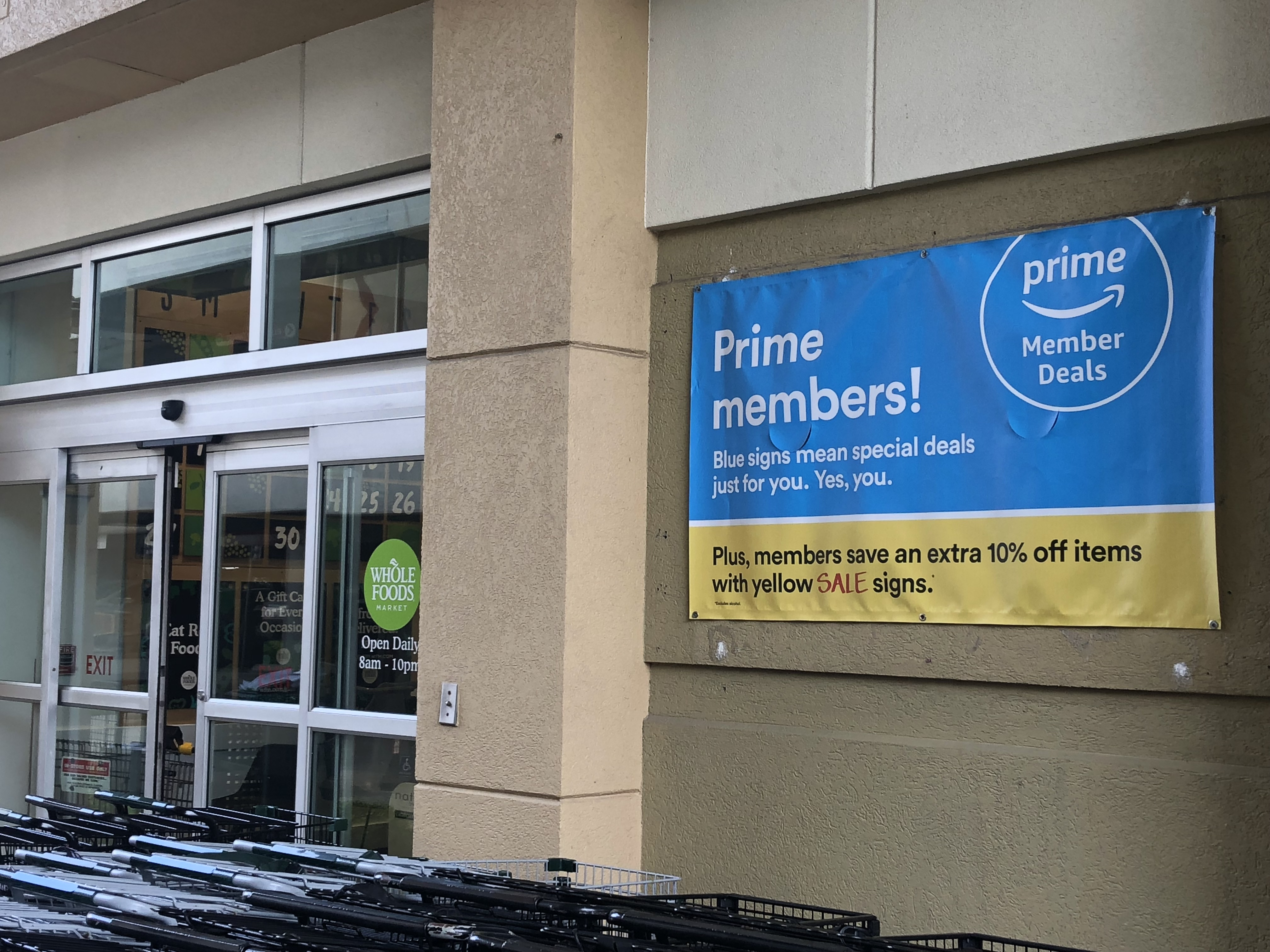 Amazon Prime Offers Discounts on Whole Foods Market Items for Florida Shoppers