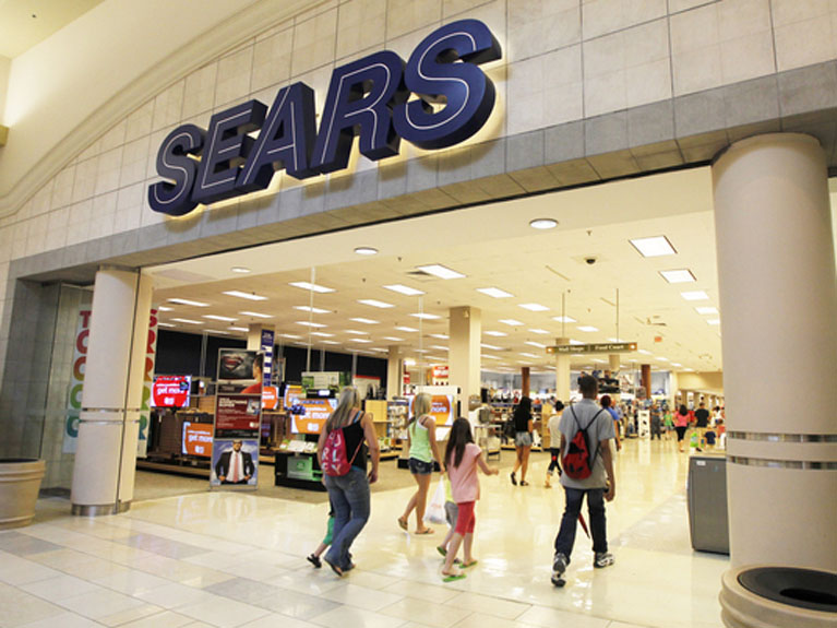 Sears pops after getting cozier with Amazon