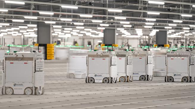 Ocado's 1st North American Fulfillment Center Goes Live