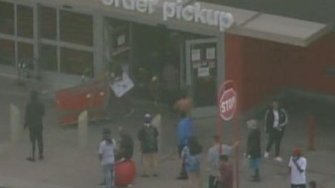 Target looted