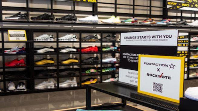 Foot Locker Will 'Rock the Vote' in September