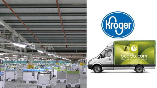 Kroger Thinking Even Smaller With Newest Ocado Facility