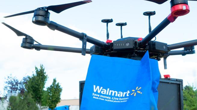 Walmart Accelerates Drone Deliveries