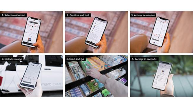 Mobile Store Service Now Live With Beta Test Robomart App