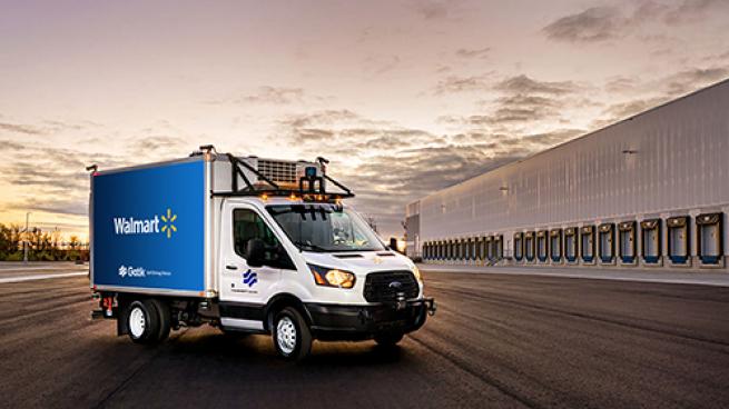 Walmart Growing Self-Driving Vehicle Pilot Gatik Arkansas Louisiana