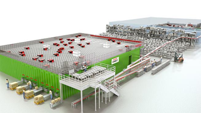 Ahold Delhaize USA Boosts Micro-Fulfillment Capabilities E-Commerce Supply Chain