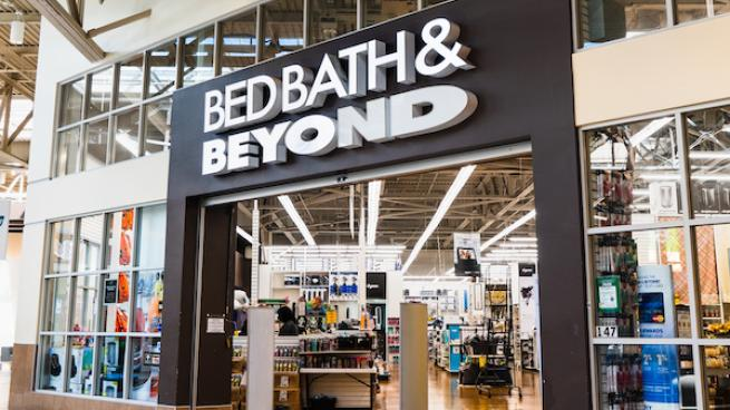 Bed, Bath & Beyond storefron
