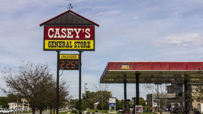 Casey's sign