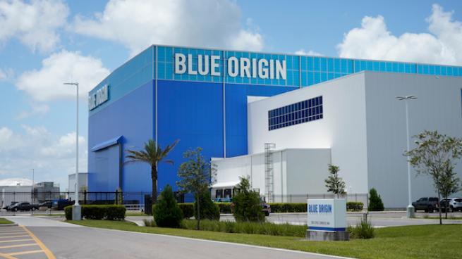 Blue origin building