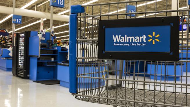 Walmart shopping cart