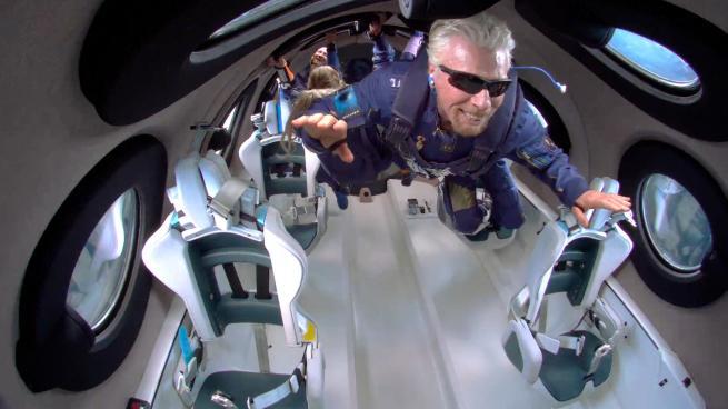 Richard Branson space