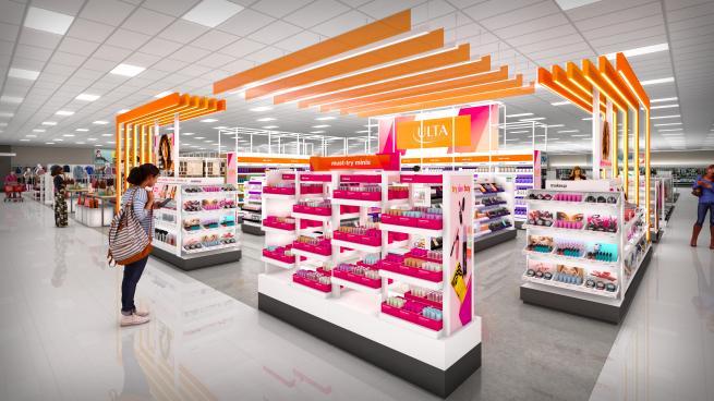 Ulta Beauty Target shop