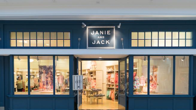 Janie and Jack storefront