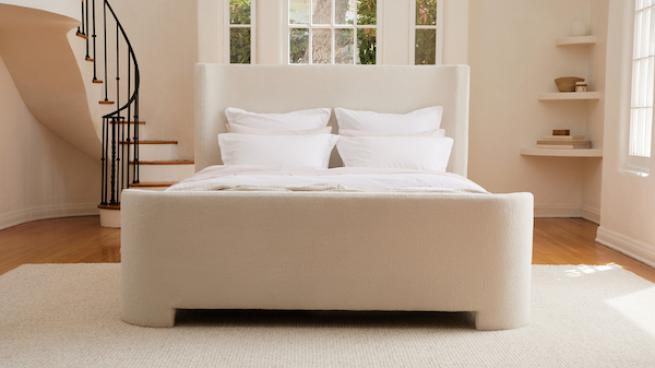 Parachute bed frame