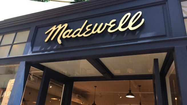 Madewell storefront