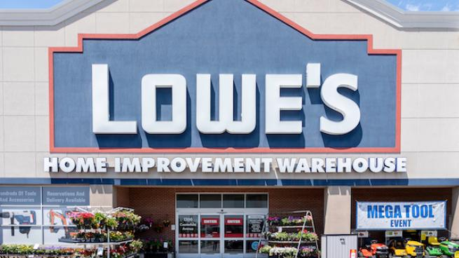 Lowe's storefront