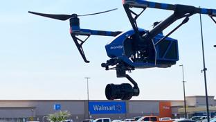 Walmart Sends COVID-19 Tests Flying by Drone