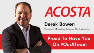 Acosta Hires P&G Vet for Marketing Job Derek Bowen