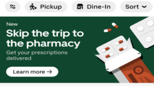 Uber Takes On Prescription Delivery