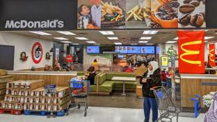 Walmart McDonalds