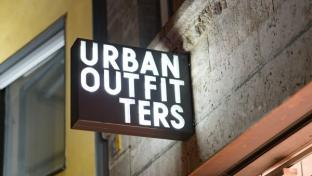 Urban Outfitters sign